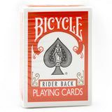 Bicycle Rider Back (ORANGE) Deck