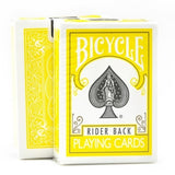 Bicycle Rider Back (YELLOW) Deck