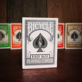 Bicycle Rider Back (SILVER) Deck