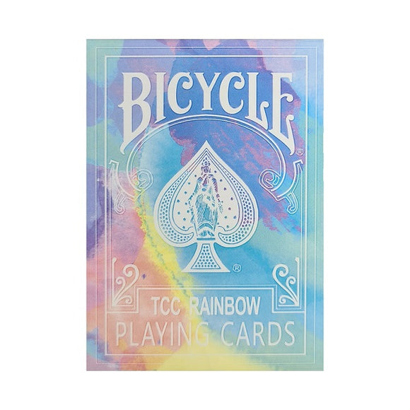 Bicycle TCC Rainbow V3 (Cedar) Edition Deck