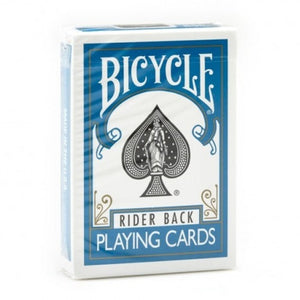 Bicycle Rider Back (TURQUOISE) Deck