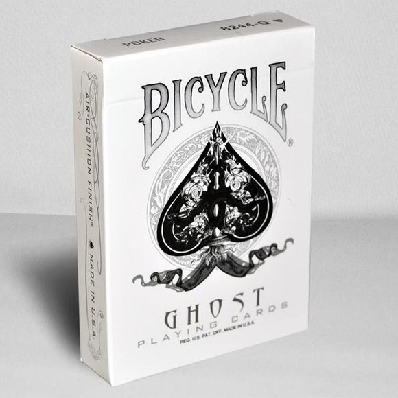 Bicycle White Ghost Deck