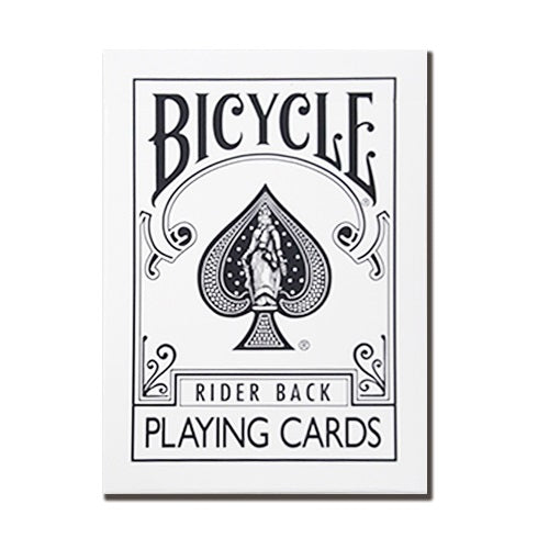 Bicycle White Rider Back Limited Remake Edition Deck
