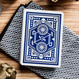 DKNG Blue Wheel Playing Cards by Art of Play