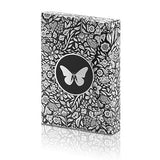 Butterfly Playing Cards Marked (Black and Silver) by Ondrej Psenicka