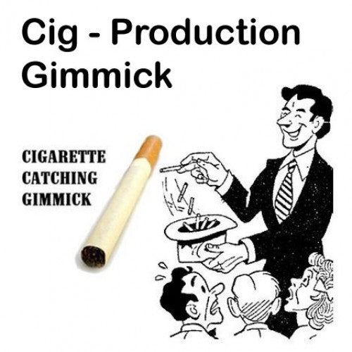 Mid-Air Cigarette Production Gimmick