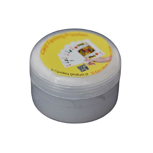 Fanning Powder for Playing Cards