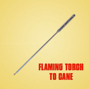 Flaming Torch To Cane (Wand Required)