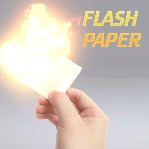 Flash Paper Magic (5 Sheets)