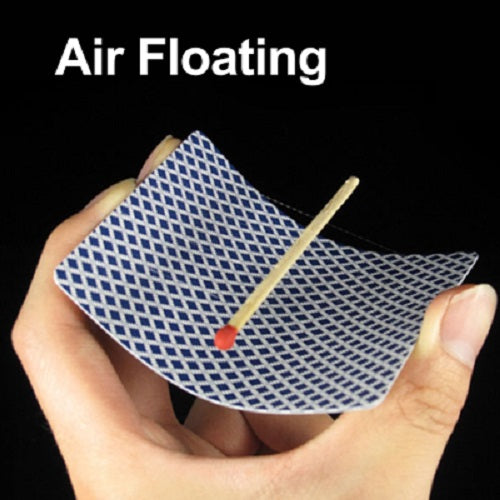 Floating Match Stick On Card