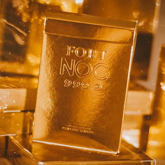 Fort NOC Playing Cards GOLD Edition Deck