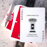 Gemini Casino RED Deck