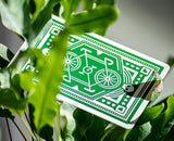DKNG Green Wheel Limited Edition Deck by Art of Play