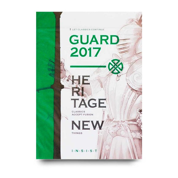 Guard 2017 Playing Cards