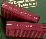 Guy Hollingworth Burgundy Edition Deck