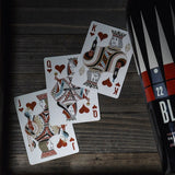Jaqk Cellars Playing Cards - Blue Edition