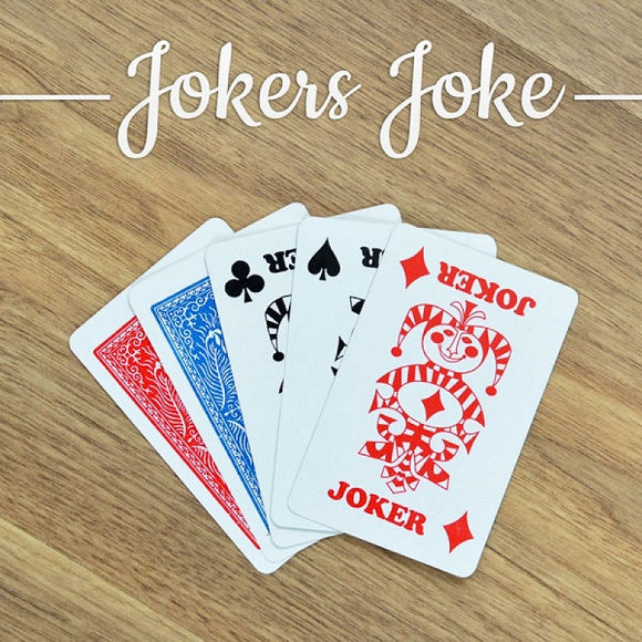 Jokers Joke Card Magic Trick