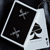 Kings Playing Cards - BLACK Edition Deck