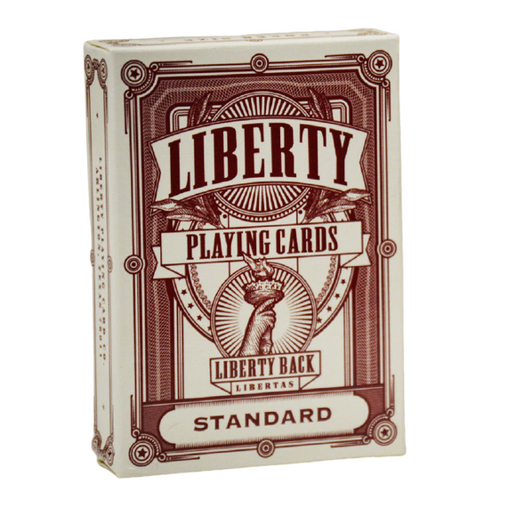 Liberty RED Deck by Jackson Robinson