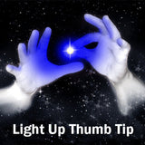 Light Up Thumb Tip BLUE (Pack of 2)