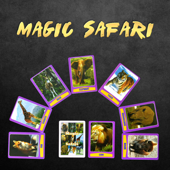 Magic Safari Cards Trick