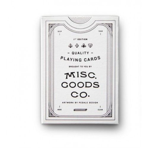 Misc Goods Co Pedale Design First Edition (White) Deck