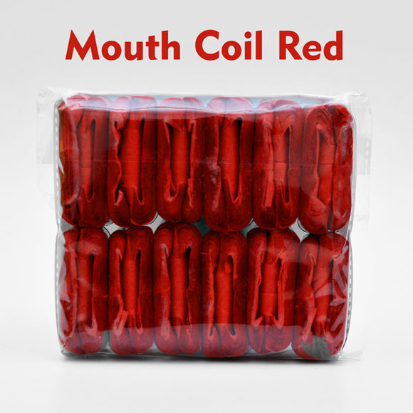 Classic Mouth Coils - RED