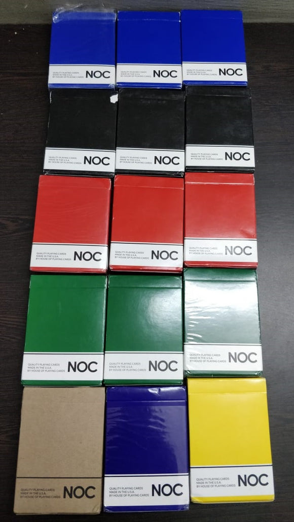 NOC Playing Cards by The Blue Crown (Unsealed, brand new)