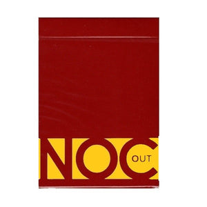 NOC OUT Red/Gold USPCC Edition Deck