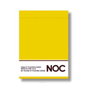 NOC Yellow USPCC Edition Deck