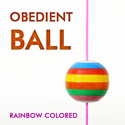 Obedient Rainbow Colored Ball
