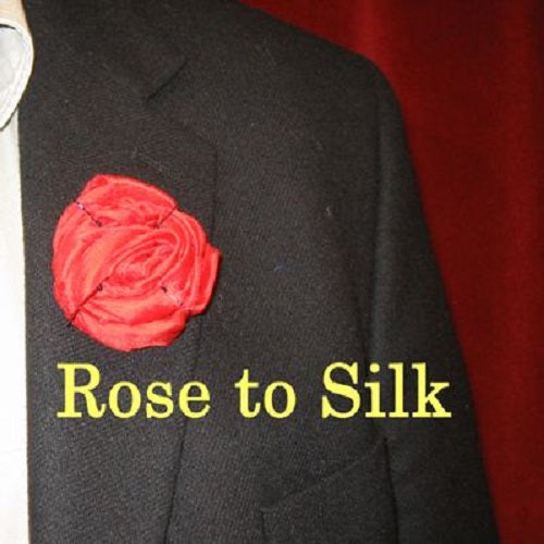 Flower Rose To Silk Cloth
