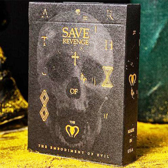 Save Revenge Playing Cards