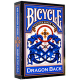 Set of 2 Bicycle Dragon Back RED & BLUE Decks