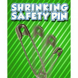 Shrinking Safety Pin
