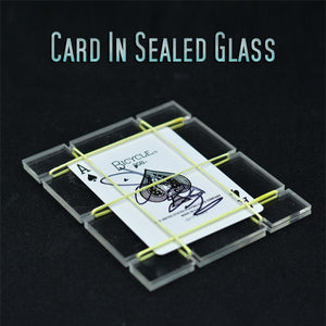 Card In Sealed Glass