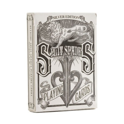 Split Spades Silver Edition Deck