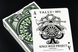 Tally Ho No.13 Emerald Green (WHITE) Edition Deck