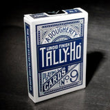 Tally Ho Fan Back BLUE Deck