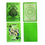 Tally Ho Reverse GREEN Circle Back Deck