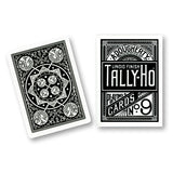 Tally Ho Fan Back BLACK Deck