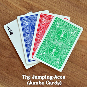 Jumping Aces (Jumbo Cards) Trick