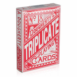 No.18 Dougherty's Triplicate RED Deck