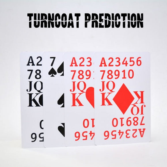 Turncoat Prediction Magic Trick