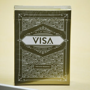 Visa Private Reserve (White Gold) Deck