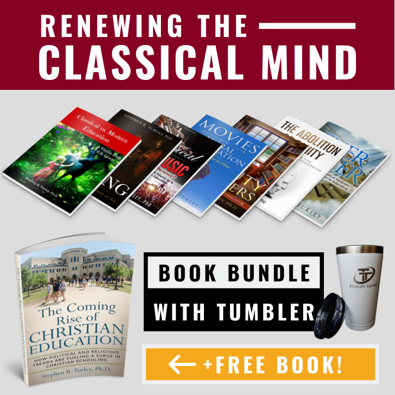 ACCS Renewing the Classical Mind Book Bundle with Turley Talks Tumbler