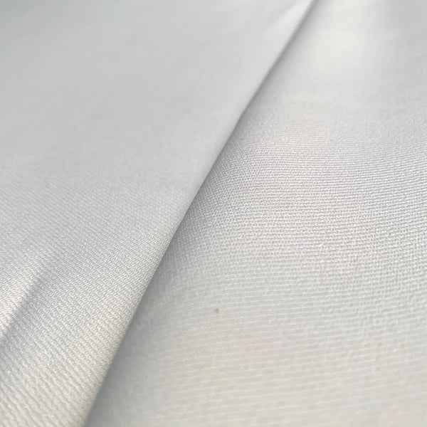 Cream Stretch Cotton Blend Twill-1/2 yard