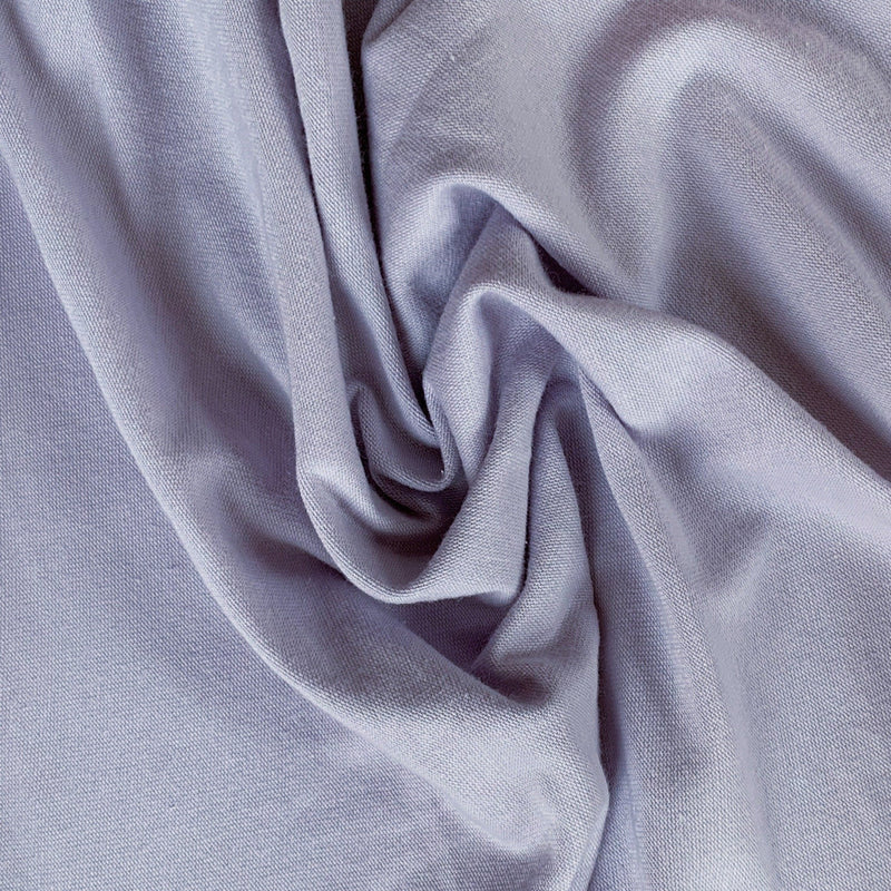 Solid Lilac Jersey Knit - 1/2 yard - Measure: a fabric parlor
