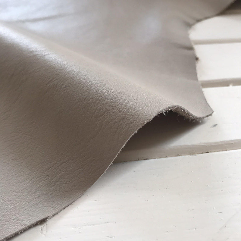 High Fashion Smooth Glazed Cowhide - 1 SQFT - Measure: a fabric parlor
