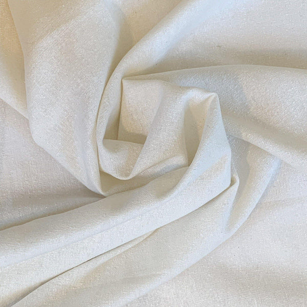 Natural Raw Silk - Remnant - 2.5 Yards